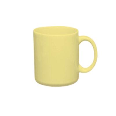 Caneca reta AZ10 300ml – amarela