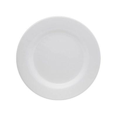 Prato raso 24 cm – branco